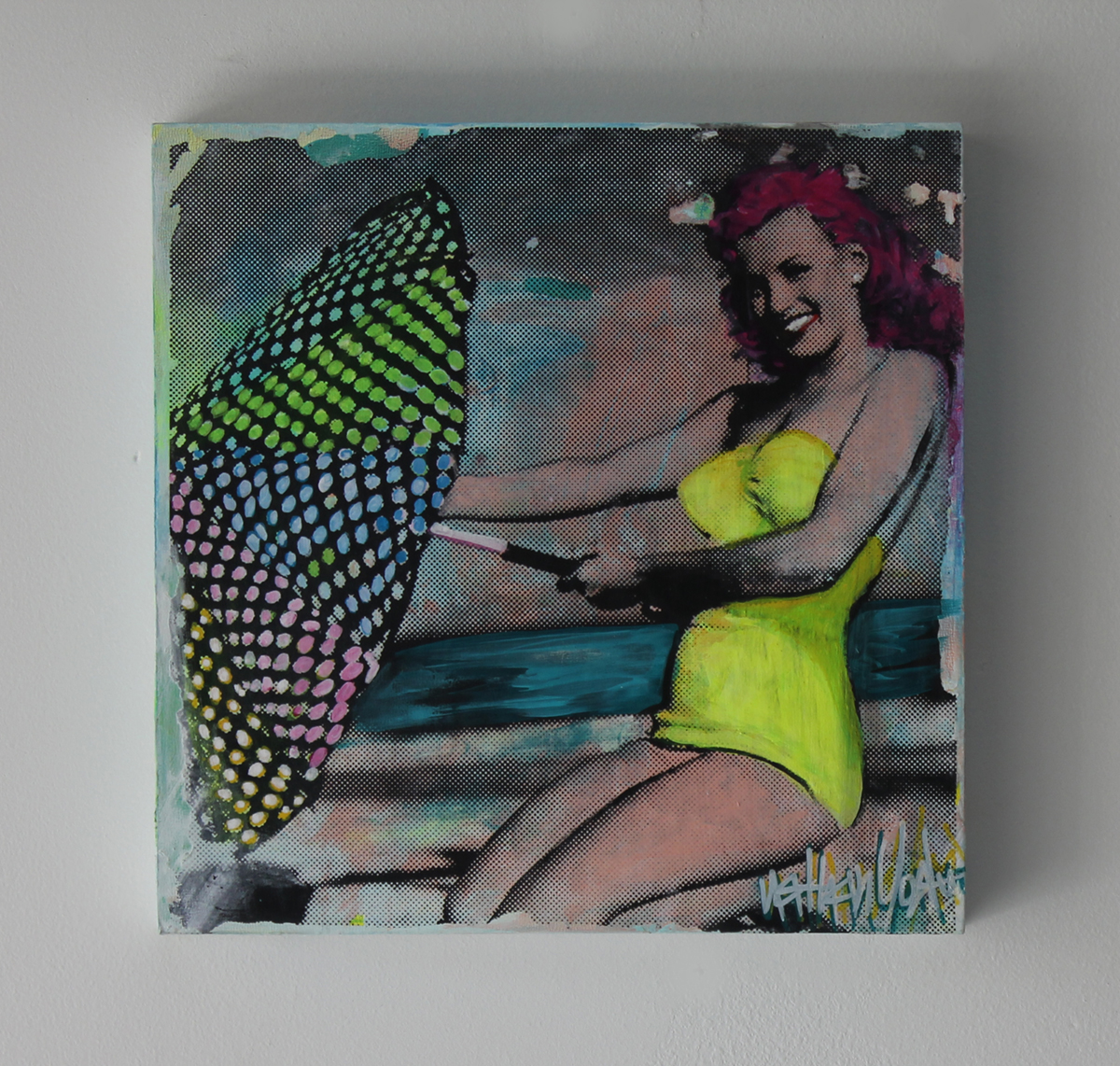 2 Marilyn Beach 12''x 12'' FL 2015