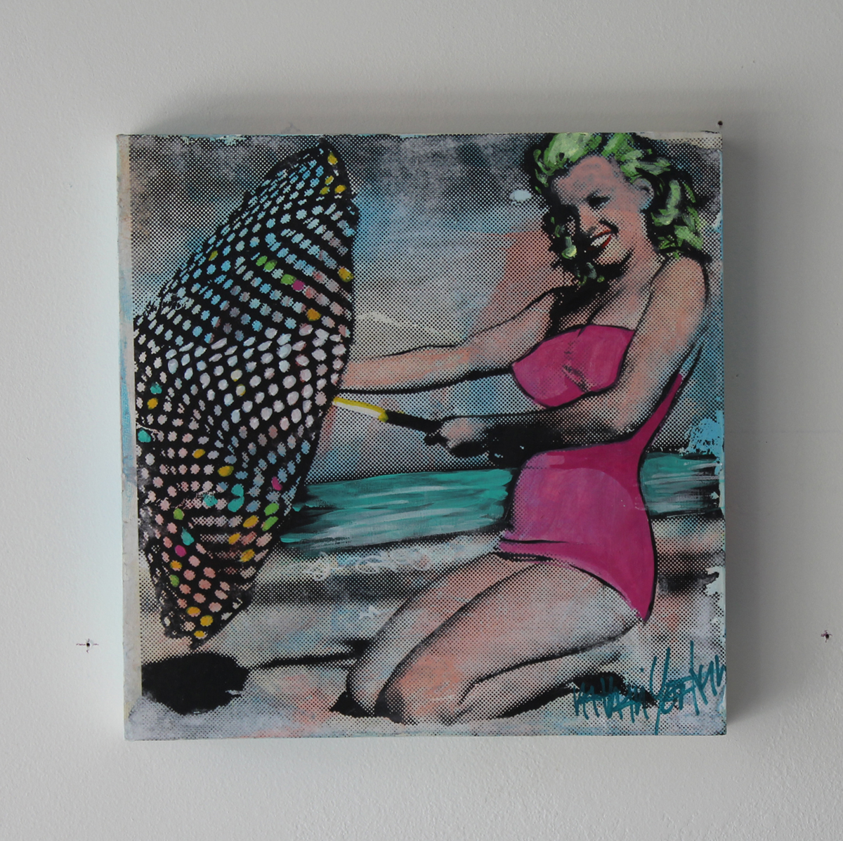 3 Marilyn Beach  12''x 12'' FL  2015
