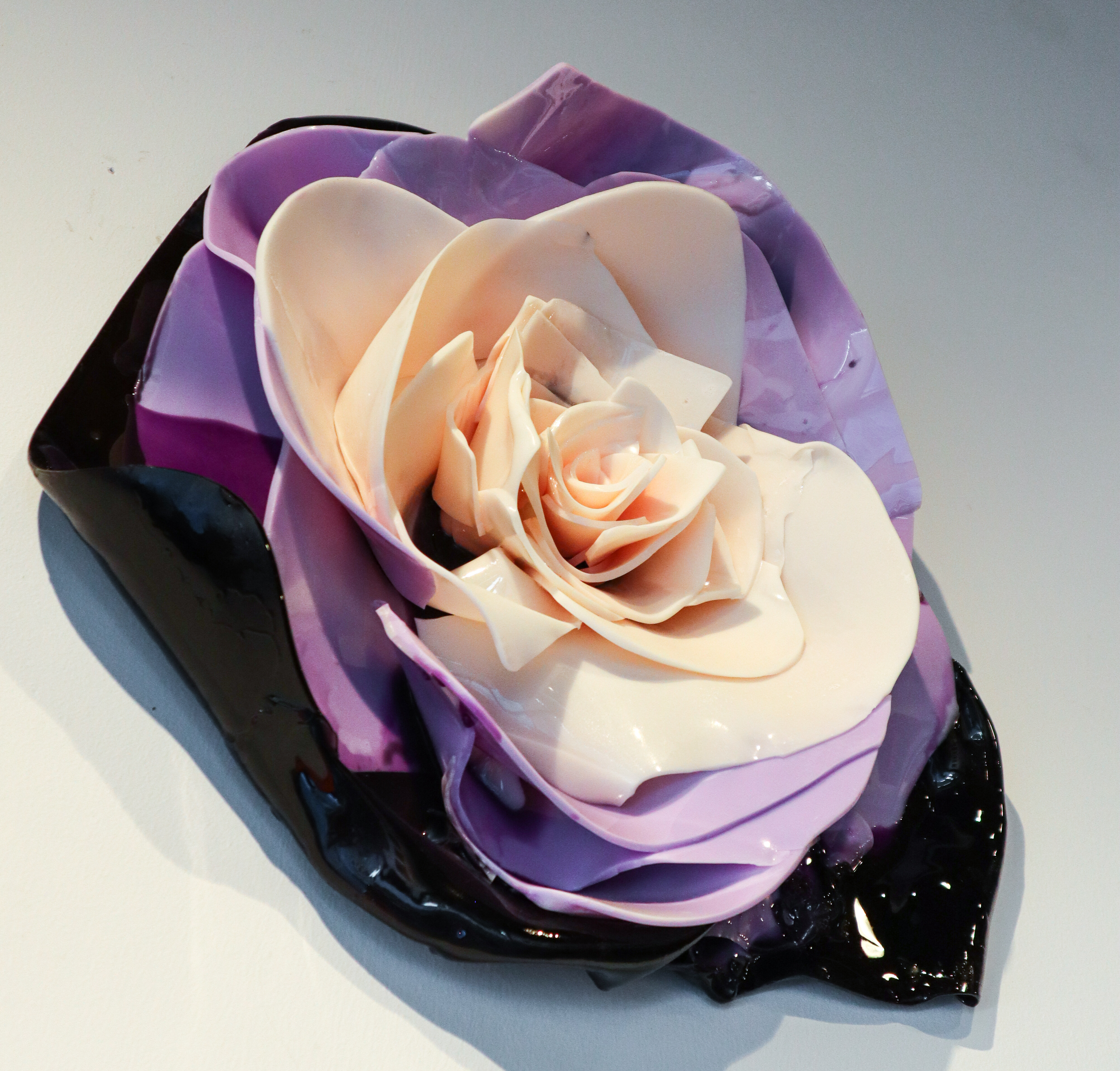Epoxy Flower – Purple
