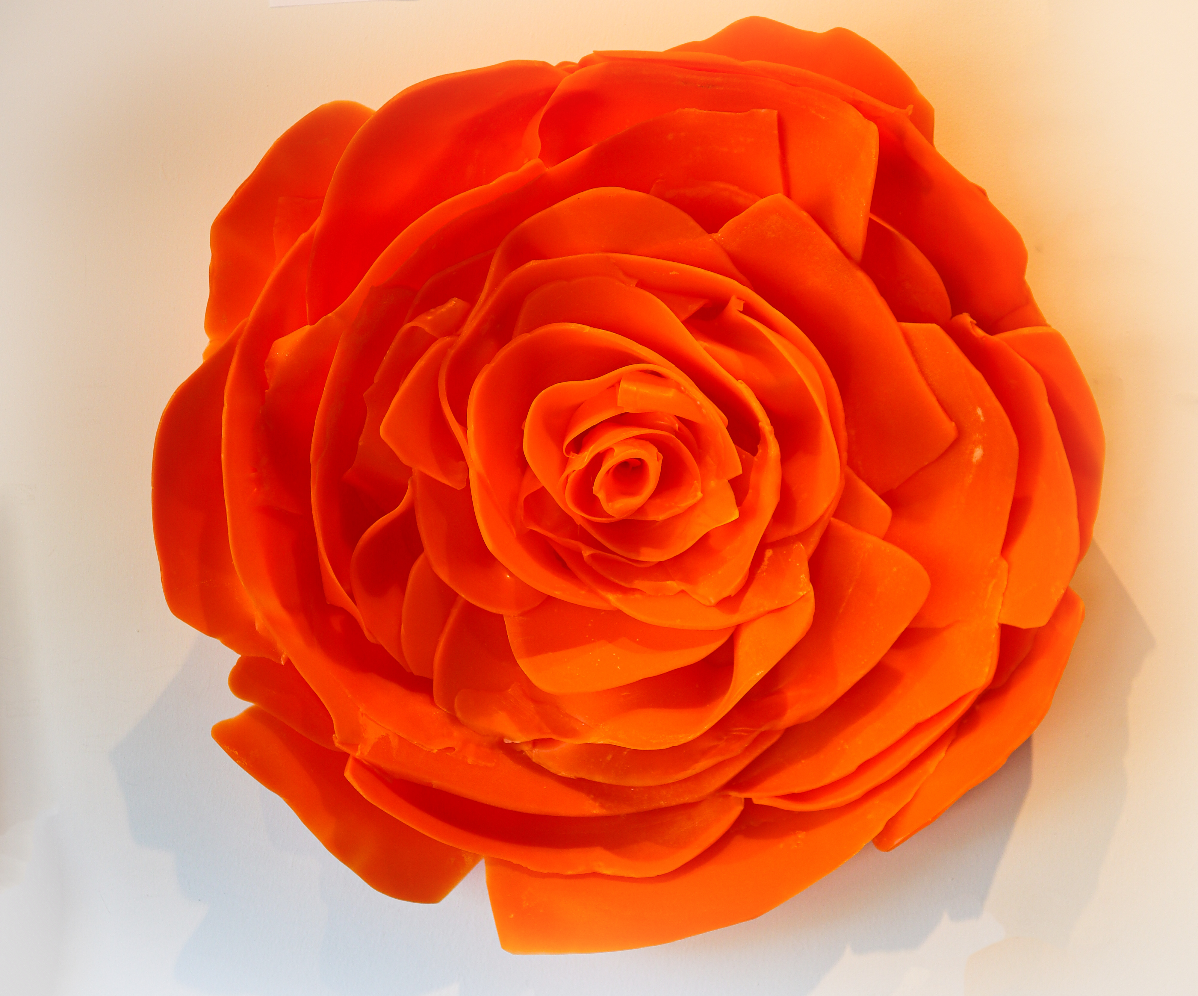 Epoxy Flower – Orange