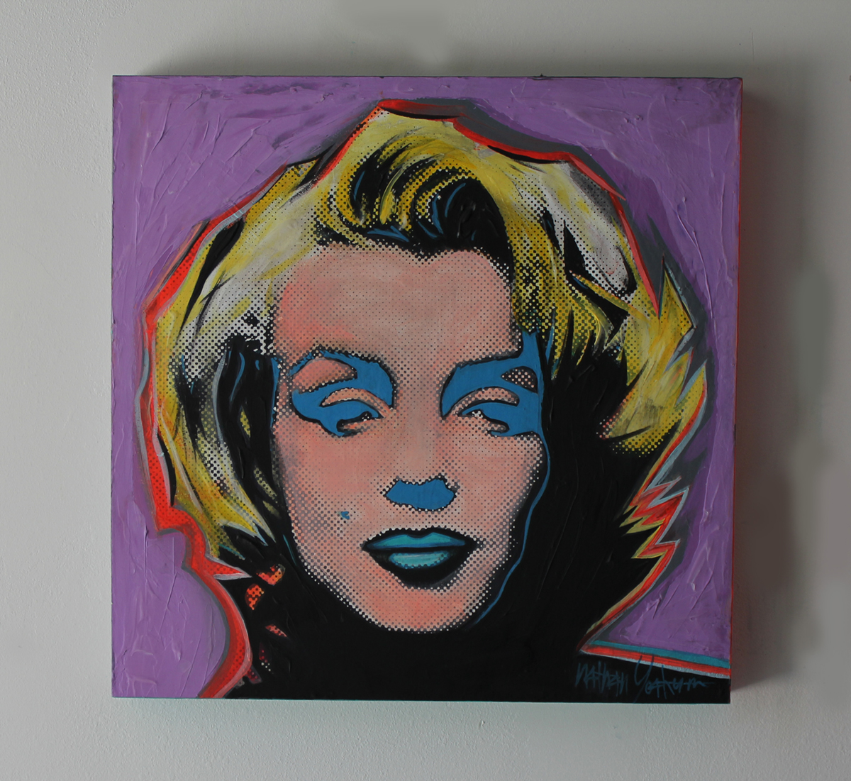 Marilyn  24''X 24''  FL  2015