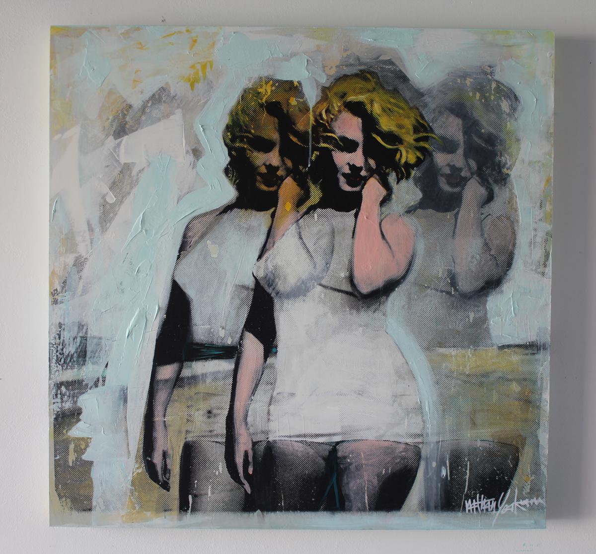 Marilyn 3 36''x 36''  FL  2015