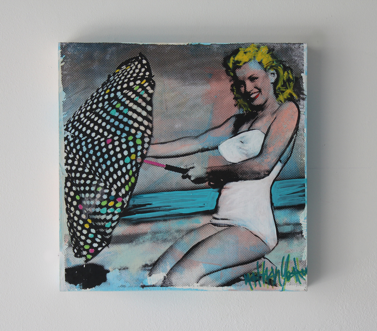 Marilyn Beach 12″x12″ FL 2015