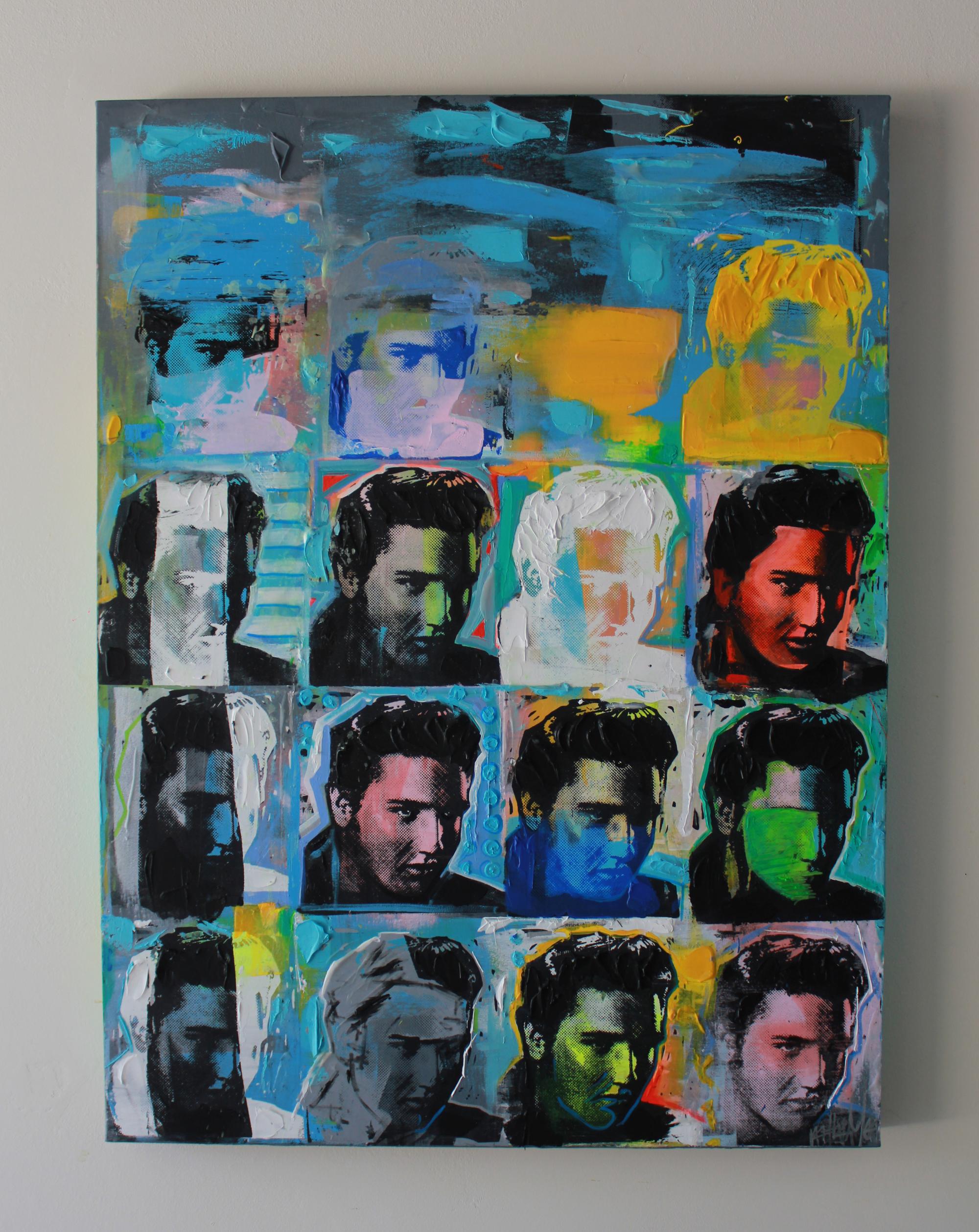"Elvis 15 48"" x 36"""