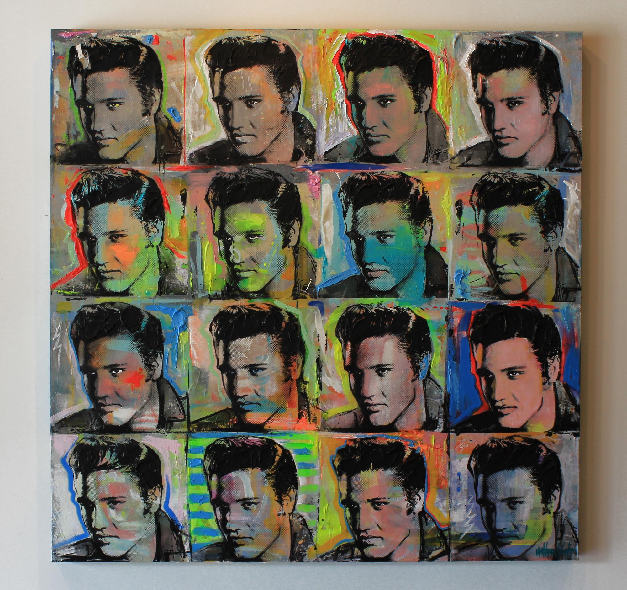 "Elvis 16  60"" x 60"""